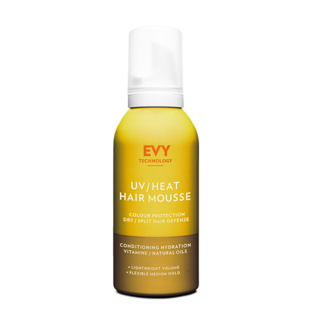 UV/ Heat hair mousse